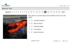 Ultrasound Exams to Earn CME Credit through the AMA and ACEP